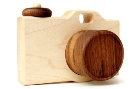 Organic Wooden Camera Toy