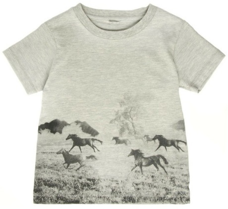 Stella McCartney Kids Arlow Horses T-shirt