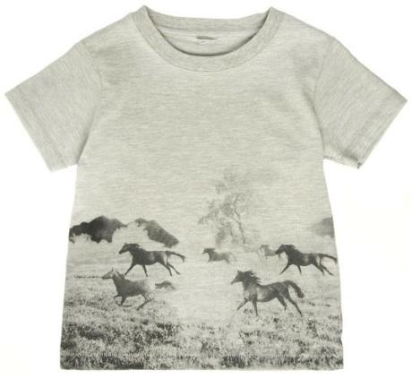 Stella McCartney Kids Arlow Horses T-shirt