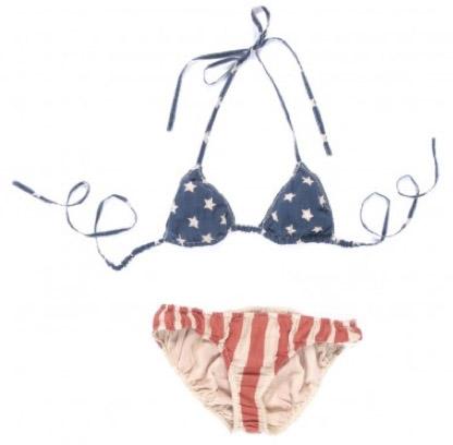 Swildens USA Striped Bikini